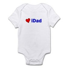 iDad (with a heart) Infant Bodysuit