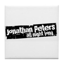Jonathan Peters All Night Lon Tile Coaster