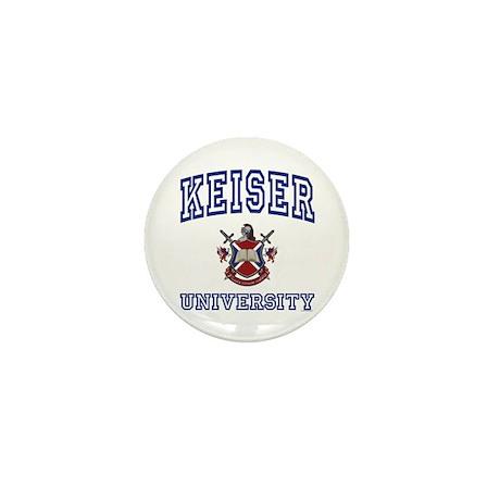 KEISER University Mini Button (10 pack)