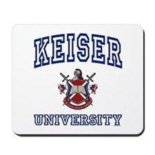 KEISER University Mousepad