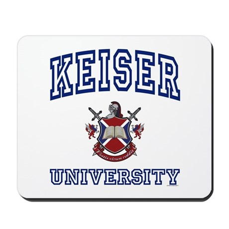 KEISER University Mousepad