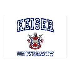 KEISER University Postcards (Package of 8)