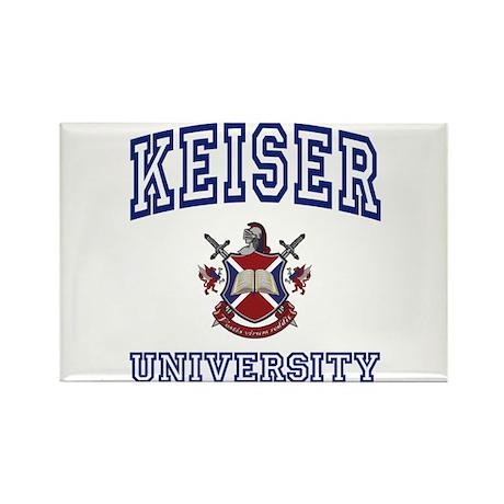 KEISER University Rectangle Magnet