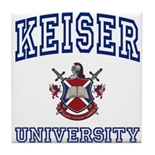 KEISER University Tile Coaster
