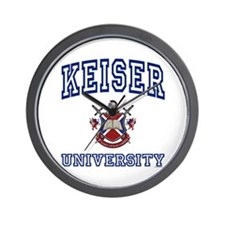 KEISER University Wall Clock