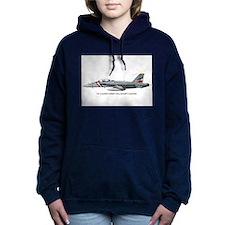 VFA2PRINTS.jpg Women's Hooded Sweatshirt