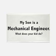 Mechanical Engineer Son Rectangle Magnet