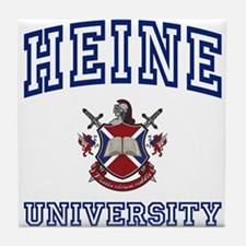 HEINE University Tile Coaster