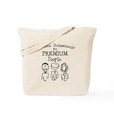 """""""Premium People"""" Tote Bag"""