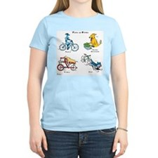 Dogs on Bikes T-Shirt