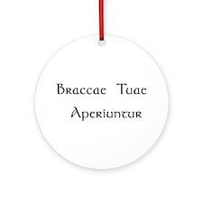 """Braccae"" Ornament (Round)"
