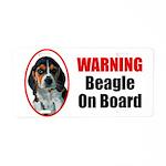 Beagle On Board Aluminum License Plate