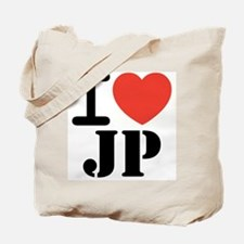 I love JP Tote Bag
