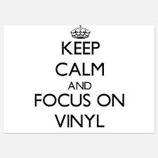 Keep Calm by focusing on Vinyl Invitations
