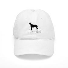 Irish Wolfhound w/ Text #2 Baseball Baseball Cap