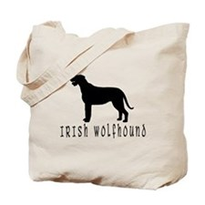 Irish Wolfhound w/ Text #2 Tote Bag