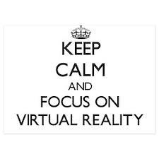 Keep Calm by focusing on Virtual Reali Invitations
