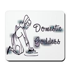 Domestic Goddess II Mousepad