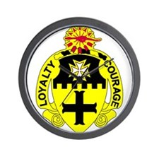5th Squadron 5th Cavalry.psd.png Wall Clock