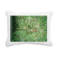 grasshoper Rectangular Canvas Pillow