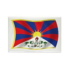 Tibet Flag Rectangle Magnet (100 pack)