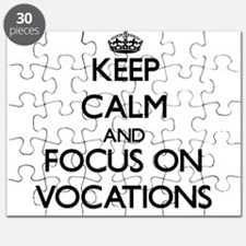 Keep Calm by focusing on Vocations Puzzle