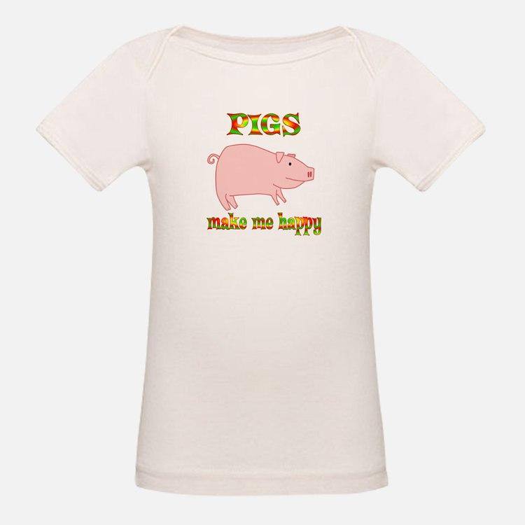 Pigs Make Me Happy Tee