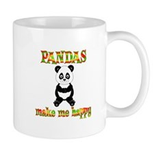 Pandas Make Me Happy Mug