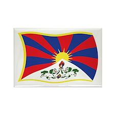 Tibet Flag 2 Rectangle Magnet (100 pack)