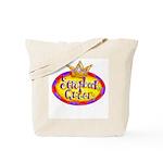 Scrapbook Queen Crown Tote Bag