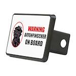 Affenpinscher On Board Rectangular Hitch Cover