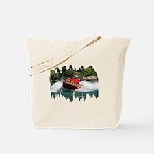 Whirlpool Jet Boat Tote Bag