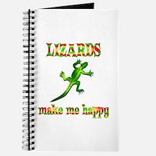 Lizards Make Me Happy Journal