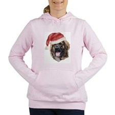 Cute Leonberger Women's Hooded Sweatshirt