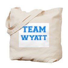 TEAM WYATT Tote Bag