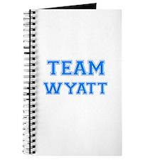 TEAM WYATT Journal
