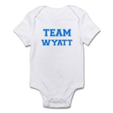 TEAM WYATT Onesie