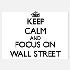 Keep Calm by focusing on Wall Street Invitations