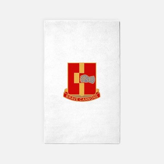 92nd Field Artillery Regiment Milit 3'x5' Area Rug