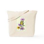 Bergamot & Butterfly Tote Bag