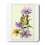 Bergamot & Butterfly Mousepad