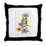 Bergamot & Butterfly Throw Pillow
