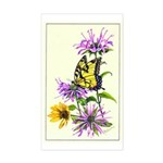 Bergamot & Butterfly Rectangle Sticker