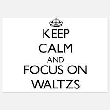 Keep Calm by focusing on Waltzs Invitations