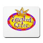 Scrapbook Queen Crown Mousepad