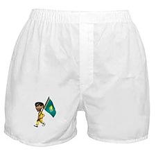 Kazakhstan Boy Boxer Shorts