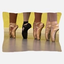 Ballet Dancers on Pointe or on Toes Pillow Case