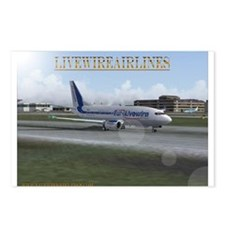 Livewireairlines Postcards (Package of 8)