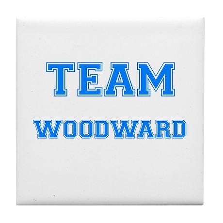 TEAM WOODWARD Tile Coaster