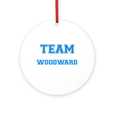 TEAM WOODWARD Ornament (Round)